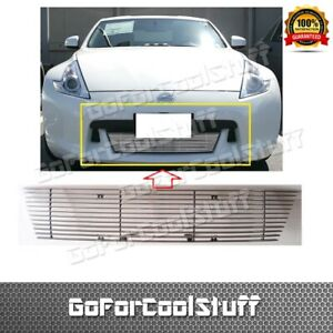 For 09~12 Nissan 370Z 2009 10 11 12 Bumper Billet Grille Grill Insert BOLT OVER