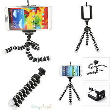 2in1 Mini Octopus Flexible Tripod Stand fr Apple iPhone 6 6+ 5S 5 & 1/4'' Camera