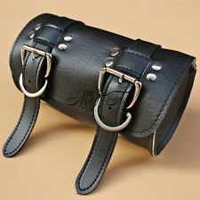 Scooter Front Forks Tool Bag Luggage SaddleBag Black For Harley Motorcycle New
