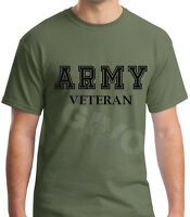Army Veteran T Shirt Soldier Veteran US United States Tee Short Sleeve Military