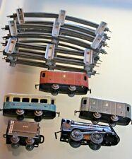 JEP échelle O Locomotive mécanique VAPEUR 020 TENDER + 3 wagons 1950 SNCF