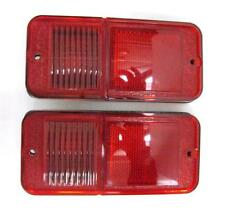 1968 - 1972 Chevy Truck Pickup Rear Side Marker Lamp Lens Pair RED Without Trim