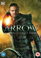 Arrow: The Complete Seventh Season DVD (2019) Stephen Amell cert 15 5 discs
