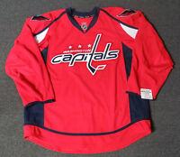 New Washington Capitals Red Authentic Team Issued Reebok Edge 2.0 Hockey Jersey