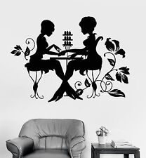 Vinyl Wall Decal Nail Studio Manicure Beauty Salon Stickers (1248ig)