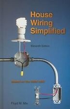 HOUSE WIRING SIMPLIFIED  FLOYD M. MIX (HARDCOVER) Electrical Book