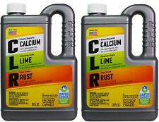 CLR Calcium Rust & Lime Remover Household Powerful Multi Cleaner 28 oz (2 Jugs)