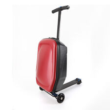 """Scooter Suitcase 20"""" Travel Trolley Luggage Bag with 3Wheels for Business Travel"""