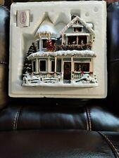 Thomas Kinkade Night Before Christmas Charming Christmas Story Telling House