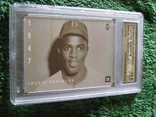 1994 Upper Deck GM #7 Jackie Robinson Baseball: The American Epic Card, 10