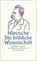 Die fröhliche Wissenschaft von Friedrich Nietzsche (2000, Taschenbuch)
