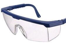Schutzbrille klar durchsichtige, kratzfest mit Oberfassung Seitenschutz EN 166