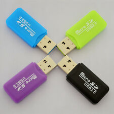 50Pcs Mini Card Reader Support up to 32GB Memory Card Micro SD/TF Card Adapters