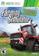 Farming Simulator (Microsoft Xbox 360, 2013) -- FREE SHIPPING!! Disc Only