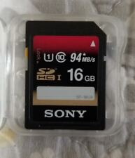 Sony SF-16UX 16GB UHS-I Class 3 Ultra High Speed SDHC SD Memory Card