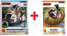 BANDAI Dragon Ball Mecha Bulma's Capsule Motorcycle & Ox-King Vehicle Model Kit