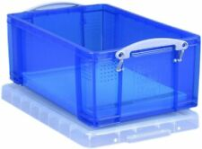 Really Useful 9 Litre Plastic Storage Box - LightBlue, Standard Packaging