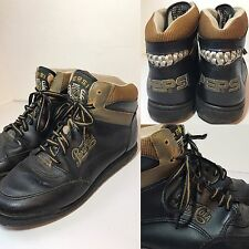Vtg 1990s Pepsi Sneakers Shoes Womens Size 7 Advertising Rare Black Gold