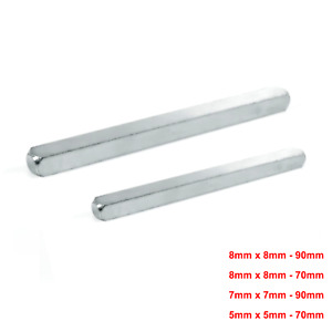 5mm or 8mm or 9mm Plain Spindle Bar for Door Windows UPVC Handle