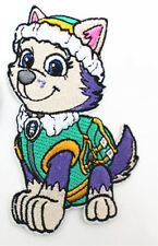 Cute cartoon Paw Patrol Everest Embroidered Iron On/Sew On Patch
