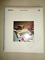 Vintage Apple IIe Owner's Manual Computer System Handbook Disk Memory Processor
