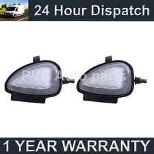 2x per Volkswagen Golf Caddy 6 WHITE LED sotto SPECCHIO Puddle Luci Luce
