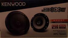 KFC-1666S Flush Mount Speakers 6.5
