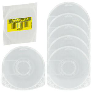 UMD Case for PSP Sony replacement game movie disc casing shell - 6pk | ZedLabz