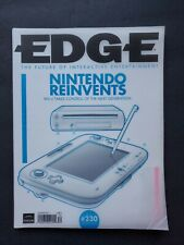 British EDGE magazine August 2011 #230 NINTENDO Wii U The Legend of ZELDA RARE