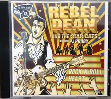 "REBEL DEAN AND THE STAR CATS ""ROCK N ROLL HEART"" FEATURING PJ PROBY ALBUM ,NEW!"