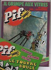 PIF GADGET - Lot des n°611 à 620 - décembre 1980 février 1981. TBE