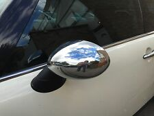 CHROME WING MIRROR COVERS MK1 MINI COOPER ONE HATCHBACK CONVERTIBLE R50 R52 R53