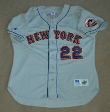 Vtg Al Leiter New York Mets Russell AUTHENTIC Baseball Jersey Sz 52