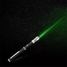 2 in 1 LED Laser Pointer Portatile  5 mw laser verde puntatore laser 530Nm-650Nm