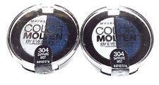2 Maybelline Eye Studio Color Molten Eyeshadow Duo SAPPHIRE MIST 304 Sealed