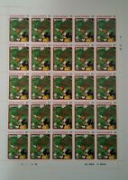 """DISNEY MICKEY MOUSE """"The Land"""" UNCUT SHEET OF STAMPS CIRCA 1979 RARE VINTAGE"""