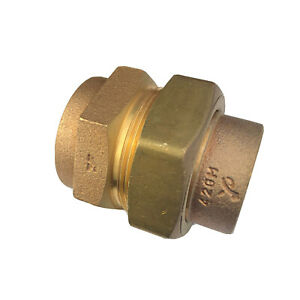Pegler Yorkshire YP69F ISR Straight Union Female Connector 42mm x 1.5'' BS1010.