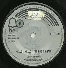 GARY GLITTER - HELLO! HELLO! I'M BACK AGAIN - BELL 1973 - ORIGINAL 70s GLAM ROCK