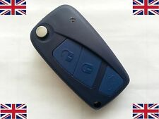 FIAT PANDA IDEA PUNTO STILO DUCATO 3 Button Remote Flip Key Fob Case and blade
