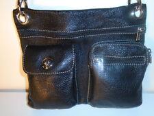ROOTS 73  VILLAGE BAG PRINCE 4 POCKET/ POUCH   MESSENGER  MINT -$158 RETAIL  +1