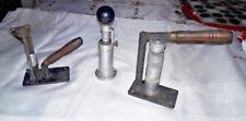 Vintage Lyman Shotgun shell reloader . A 3 piece set