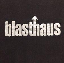 Early 90s VTG San Francisco Blasthaus T-Shirt EDM House Music RAVE Culture RARE