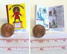 1003# Buch - Struwwelpeter modern - Puppenhaus oder Puppenstube im M 1zu12