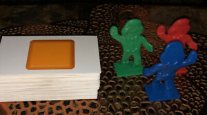 2010 Candy Land Game - Replacement Pieces (64 Cards & 3 Gingerbread Men)