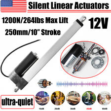 Dc12v 10 Inch Stroke 1200n Quiet Linear Actuator 45db For Rv Home Automation El