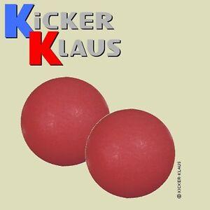 Art. 6024: Pack(2 Stück) Kickerball rot, griffig, leise, no bounce