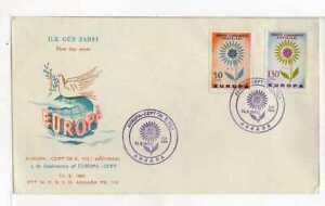 A9446) Turkey FDC 14.9.1964 Europa