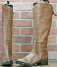 Sam Edelman Womens Penny Brown Leather Riding Boots Zip Up WC Sz EUR 40/US 10 M