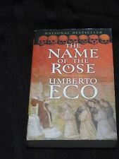THE NAME OF THE ROSE trade PB Umberto Eco classic mystery 1994 trans. Wm Weaver