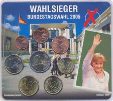 Deutschland Euro KMS 2005 A - Wahlsieger Bundestagswahl 2005 A. Merkel
